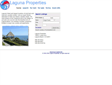 Tablet Preview of lagunaproperties.net